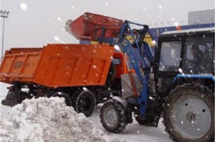 Поиск подрядчиков для уборки снега после 1 января взят под контроль региональной власти