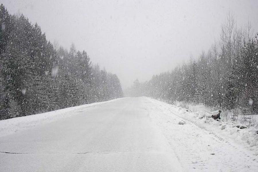 Автомобилистов предупреждают о снегопадах и метелях в Центре России
