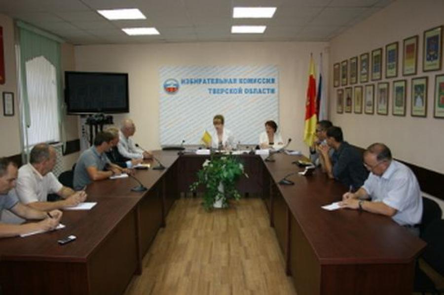 В облизбиркоме прошла встреча с представителями партий