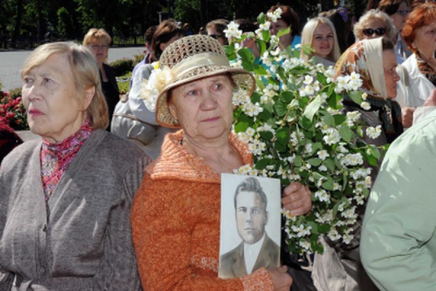 В Твери 22 июня прошли мероприятия, посвященные Дню памяти и скорби