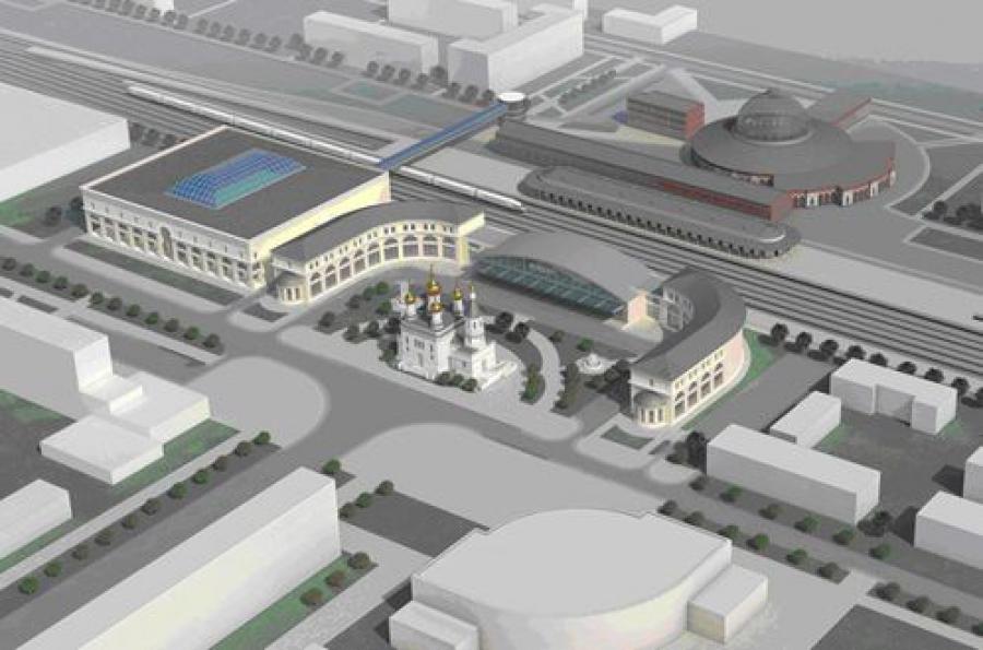 Железнодорожный вокзал в Твери превратится в огромный современный комплекс