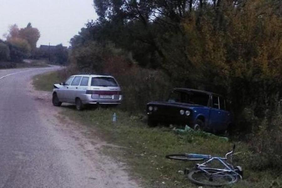17-летний водитель без прав на «шестерке» без номеров устроил ДТП, в котором пострадал человек