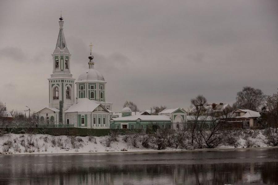 Укрепление берега Волги в Твери поможет сохранить монастырь