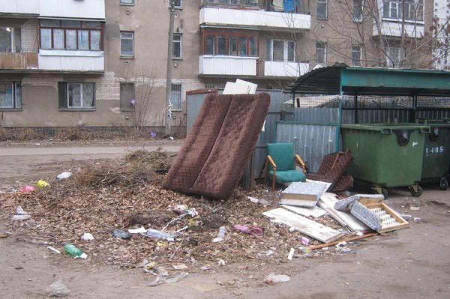 Выявленные в Заволжье несанкционированные свалки ликвидировали за три дня