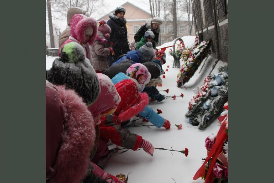 Пеновский район отметил годовщину освобождения от фашистских захватчиков
