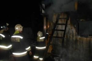 Пожар в Максатихе