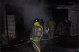Пожар на ул. Кашинская