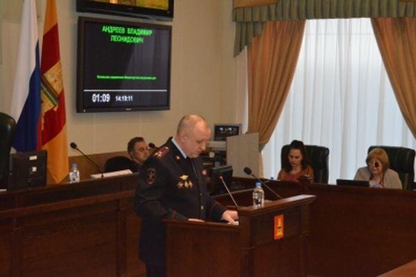 Глава УМВД РОссии по Тверскаой области Владимир Андреев