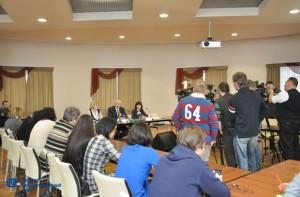 Пресс-конференция, 20.02.2015