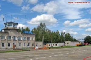 Базовый аэропорт Тверь (Змеёво) – здание аэровокзала