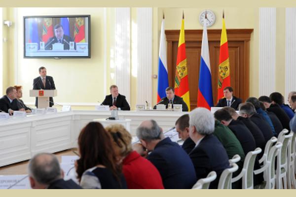 Заседание Правительства Тверской области