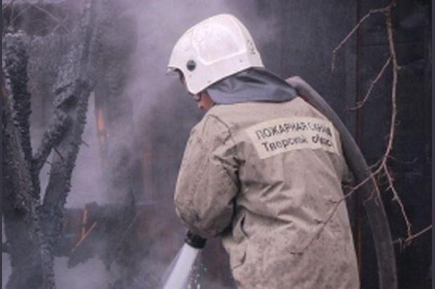 Пожар в Калининском районе