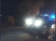 Пожар на улице Освобождения в Твери