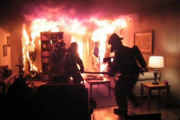 Пожар в кввартире