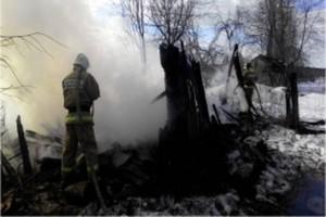 Пожар в Мякишино