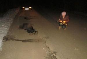 Неустановленный автомобиль насмерть задавил пешехода