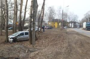 ДТП на улице Лермонтова в Твери