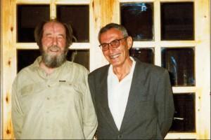 Александр Солженицын и Иосиф Дядькин