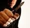 Грабитель с ножом