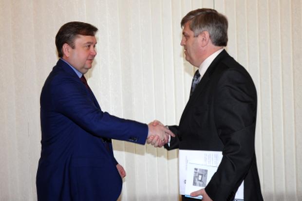 Губернатор и глава Краснохолмского района
