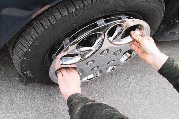 Кража колеса