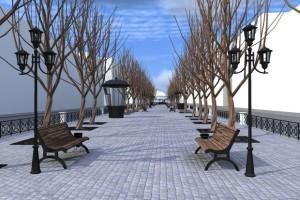 Планируется, что так будет выглядеть бульвар Радищева