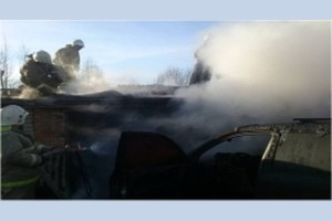 Пожар в Нелидове