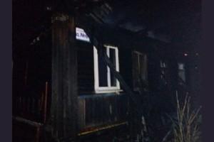 Пожар в Торопецком районе