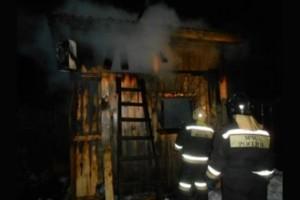 Пожар в Старицком районе