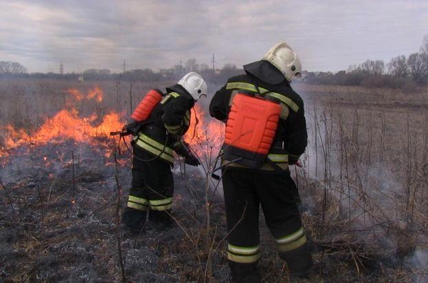 Тушение природного пожара