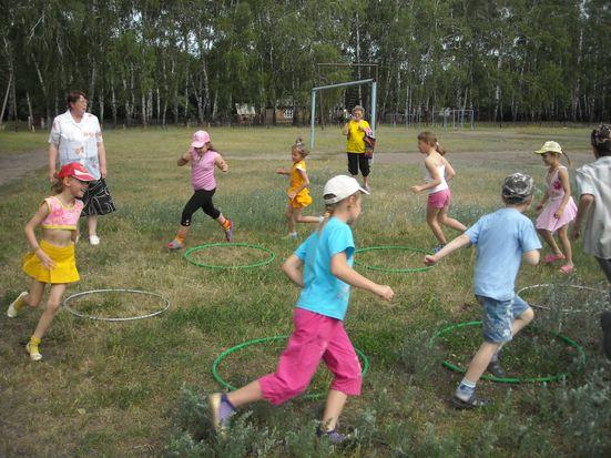 лагерные дети