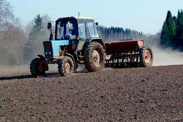 посевная трактор_сельское хозяйство