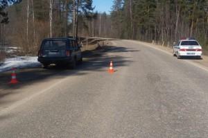 В Лесном районе водитель-пенсионер врезался в дорожное ограждение