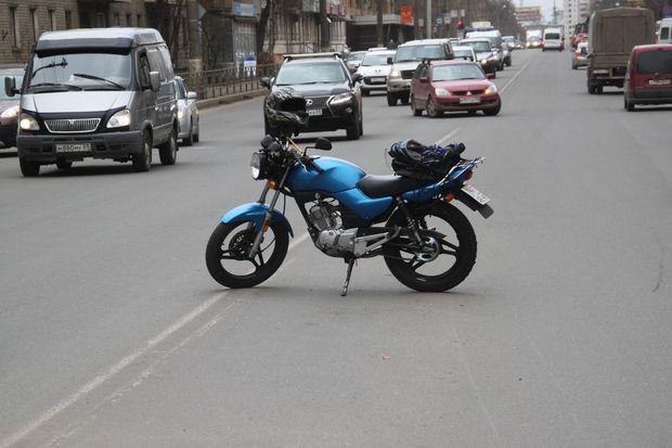ДТП с участием мотоциклиста на Волоколамском проспекте