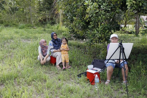 Людмила Юга в Малайзии