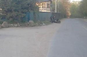 ДТП с квадроциклом
