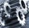 gears and titanium concept