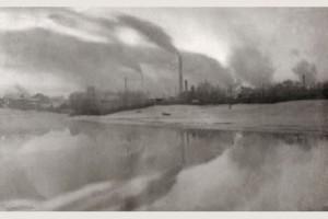 Евгений Эленгорн. Дымовое утро. 1920 год