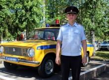 Героический полицейский