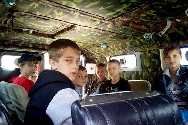 Дети в Тигре