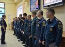 Молодые офицеры МЧС