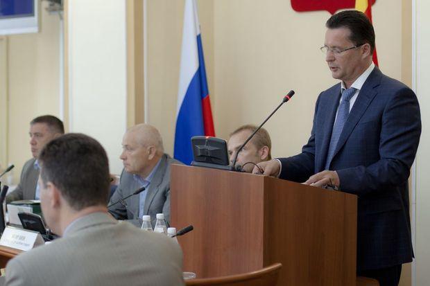 Юрий Тимофеев_отчет главы администрации