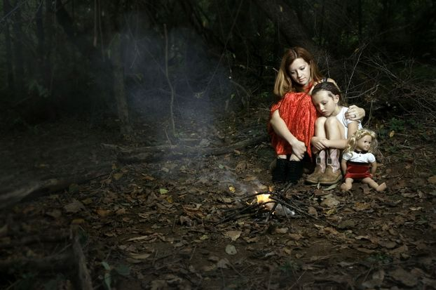 Заблудившиеся в лесу