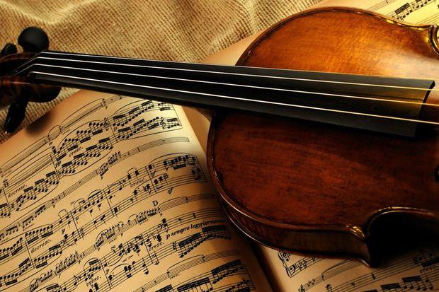 Музыка_скрипка