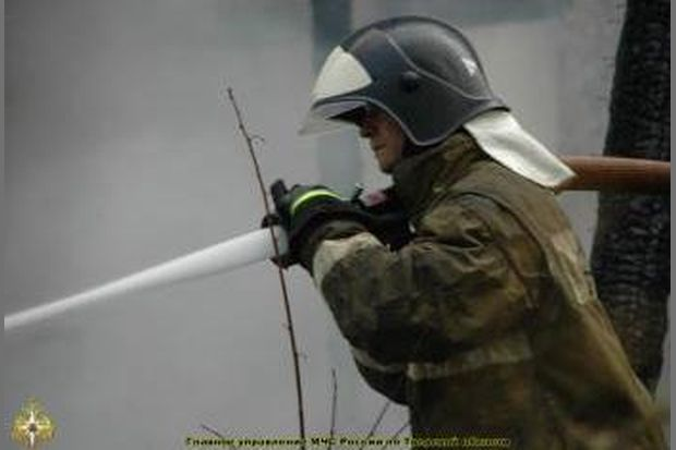 ВКимрах напожаре мужчина получил серьезные ожоги