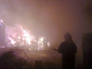 Пожар_Калининский раойон