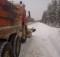 Уборка снега с трассы