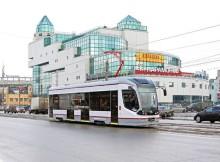 Трамвай на Тверской проспекте