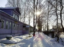 Весьегонский музей_зима