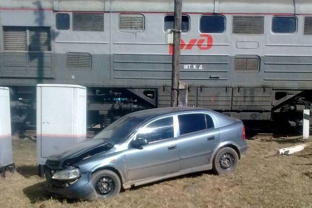 ДТП_авто и поезд